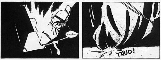 Panels from Stray Bullets #1