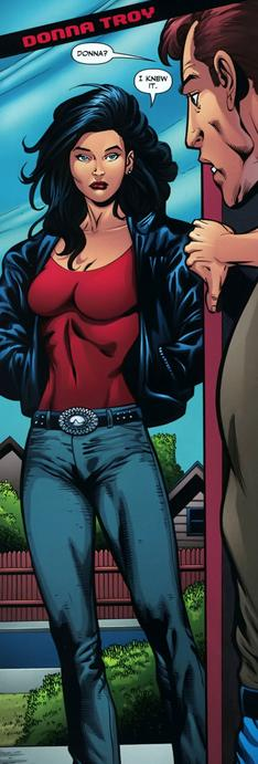 donna troy expressing herself