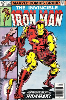 cover to iron man 126