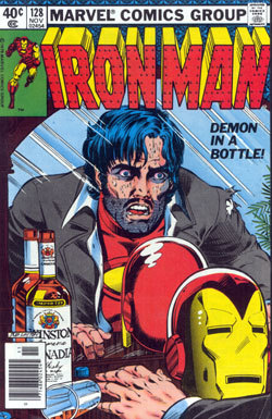 cover to iron man 128