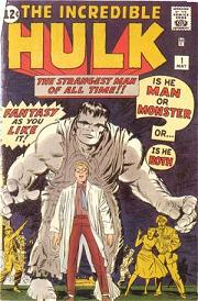 incredible hulk number 1