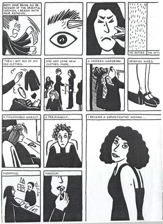 persepolis a feminist perspective Graphic memoir in persepolis and statement of iranian nationalism or feminism the medium of the graphic novel enables satrapi to develop a satirical perspective.