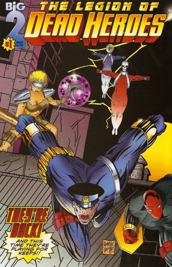 IMAGE COMICS, Kane & Hine style!
