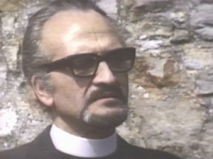 The Master, dressed as a vicar