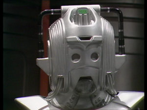 And with this photo of a Cyberman, I've just spoiled the first episode cliffhanger