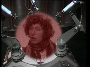 And a montage of shots of old episodes of Doctor Who, with the Cybermen clearing up old continuity points in voiceover. These are a few of Ian Levine&#039;s favourite things...
