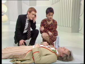 There are some who claim Peter Davison&#039;s characterisation of the Doctor is a little passive.