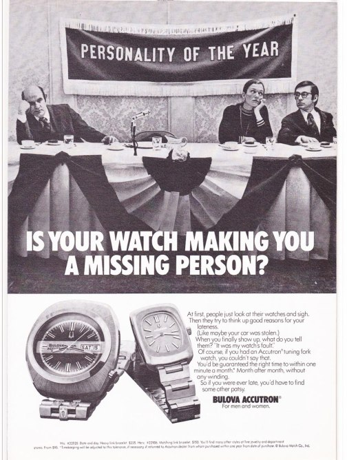 Accutron ad from 1974