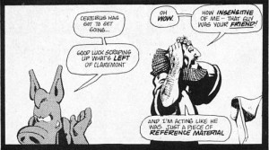 image from Cerebus 25