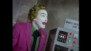 The Joker, by a remote radio controlled jukebox