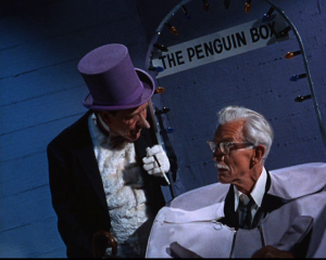 The Penguin has Alfred trapped