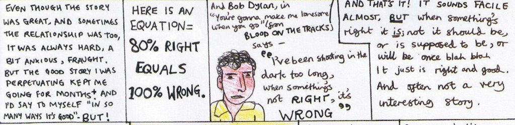 A scholarly note: invoking Bob Dylan doesn't necessarily make you right.