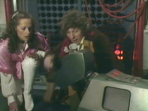 Romana, The Doctor and K-9