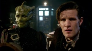 Great Intelligence... check. Sontarans... check. Silurians... check.