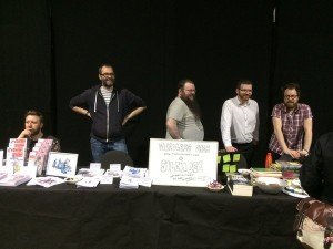 Team Mindless, with jumble and cakes
